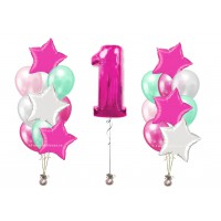 Композиция Звездный День Рождения для девочки