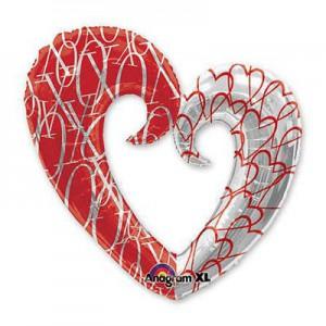 Сердце вензель