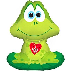Лягушка с сердечком