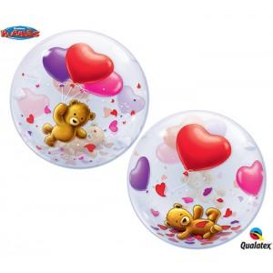 Шар Bubble Мишки с шариками