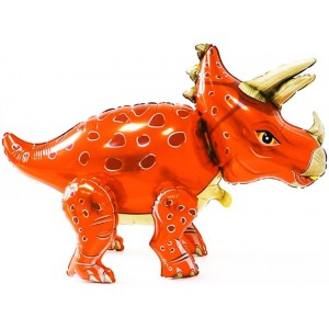 Динозавр Трицератопс, оранжевый (Китай)