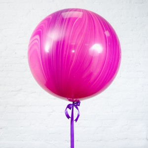 Большой шар Агат Pink Violet 75 см