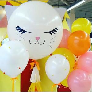 Большой шар Котик (цвета в ассортименте)