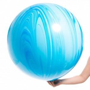 Большой шар Агат Blue 75 см