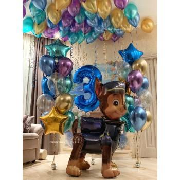 Комплект шаров на День Рождения