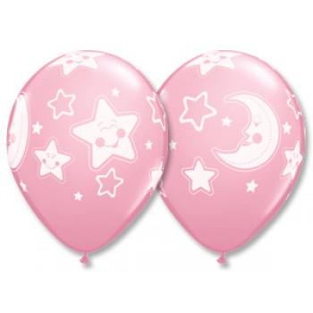 Звезды и луна для девочки