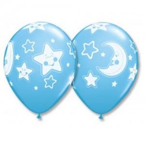 Звезды и луна для мальчика