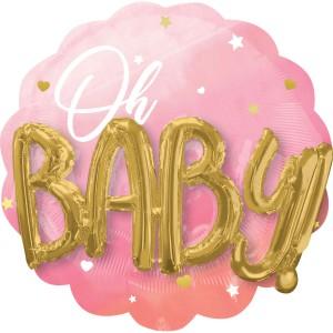 Oh Baby Буквы 3D девочка