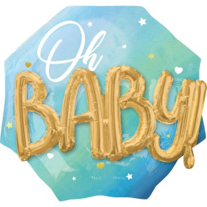 Oh Baby Буквы 3D мальчик