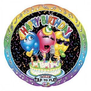 Поющий шар Happy Birthday
