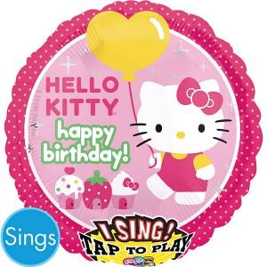 Поющий шар Hello Kitty
