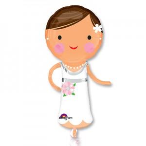 """Фольгированный шар """"Красавица невеста"""""""
